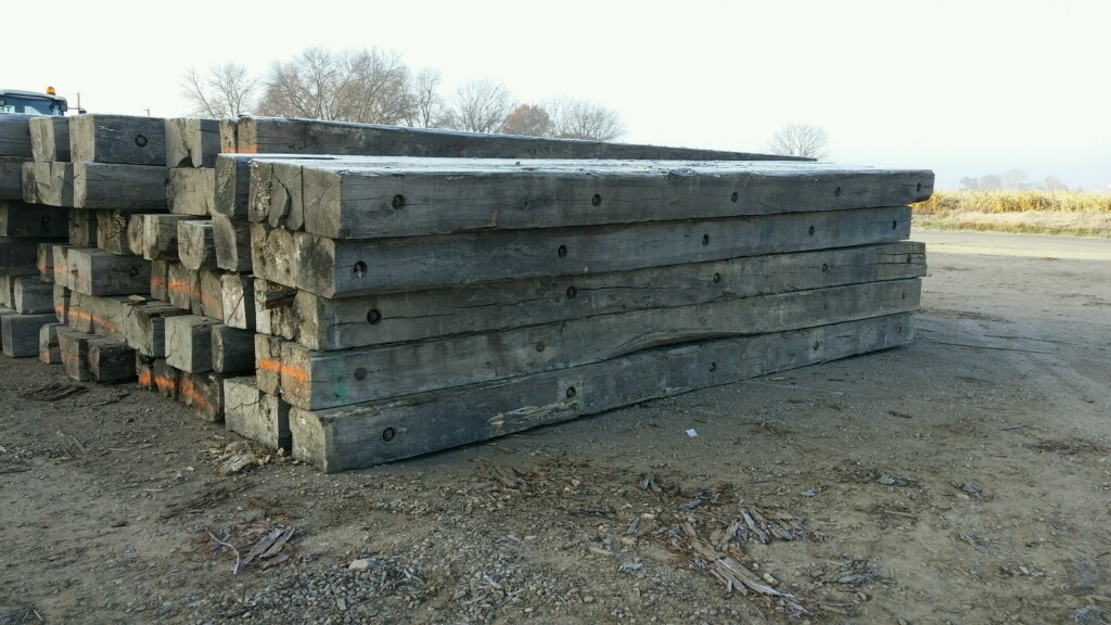 Used Crane Mats In Mo And Tx Pipeline Skid Service