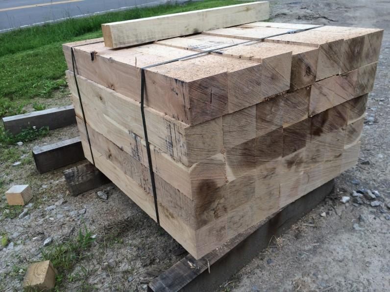 Hardwood Cribbing