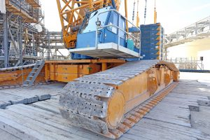 What are crane mats used for